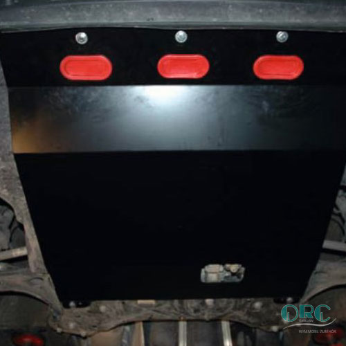 Unterfahrschutz Motor & Getriebe 3mm Stahl, schwarz beschichtet